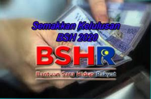 Semakkan kelulusan BSH