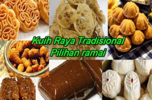 Aneka Kuih Raya Tradisional