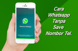 cara whatsapp tanpa save no memo
